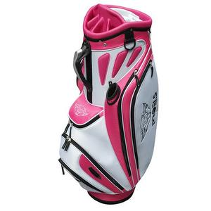 PROELS DELUXEIII CART BAG WITH RED COLOR