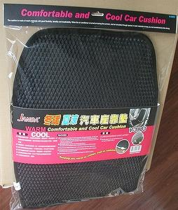 Cool car seat cushion