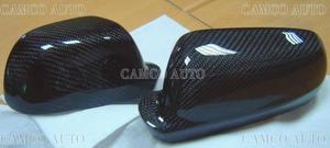 7-8864  CARBON DOOR MIRROR COVER FOR 98~02 GOLF IV