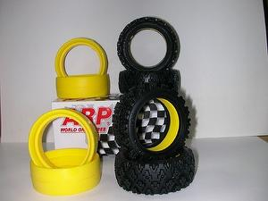 1/10th Touring Car Rubber Tires 26mm