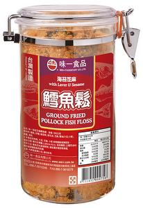 Ground Fried Pollock Fish Floss (with Laver & Sesame) 300G