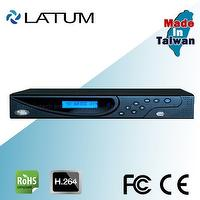 P2P function 960H H.264 8TB 8ch DVR with LCD screen