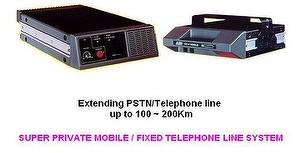 Long distance cordless phone extender