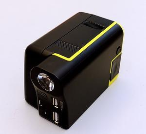 Versatile jump start + mobile power bank