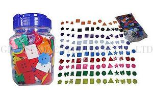 Art&Craft Small Buttons, 380g, mixed Colors