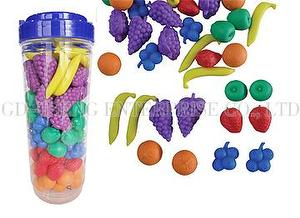 Fruit Blueberry Set, 108pcs, 6colors 6 shapes