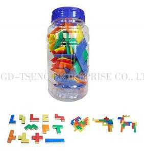 Pentominoes, 60pcs, 5 colors