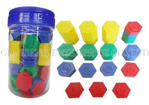 Hexagon Weights, 54pcs