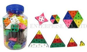 New Shaped Linking Cubes Blocks, 100pcs
