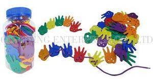Play Hand, 72pcs, 6 color