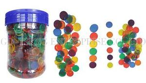 2cm Transparent Counters Round,1000pcs