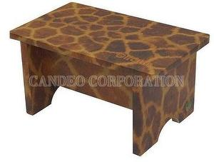 DIY Paper Furniture Low Stool Giraffe