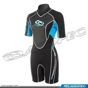 3/2mm Neoprene Shorty for Lady, Wetsuit, Diving Suit