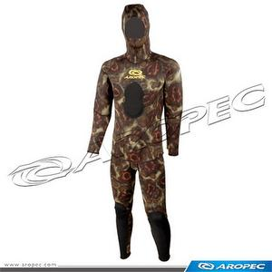 3.5mm Camouflage 2PC Spearfishing Suit, Wetsuit, Diving Suit