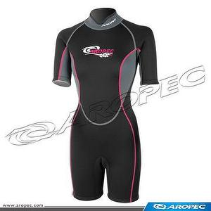 3mm Neoprene Shorty, Lady, Wetsuit, Diving Suit