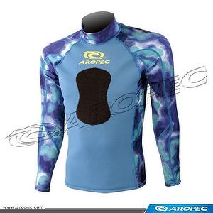 1mm N/L Spearfishing Long Sleeve Rash Guard, Wetsuit, Diving