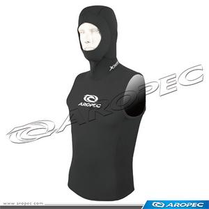 5/3mm N/Super-Stretch Man's Hooded Vest, Diving Vest, Surfin