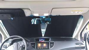 Custom windshield sun shade-customization-fit HONDA CR-V