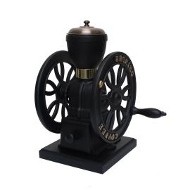 Double wheel coffee mill