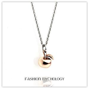 Apple Necklace 316L Stainless steel L-0820