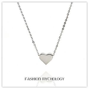 Heart Necklace 316L Stainless steel N-0102 SUS