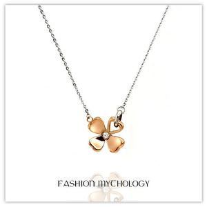 Clover Necklace 316L Stainless steel P-2237