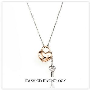 Honey Key Necklace 316L Stainless steel P-3651