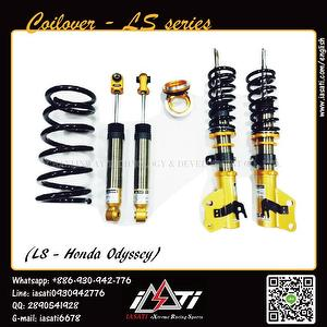 Coilovers suspension strut kits - Twin-tube, adjustable damp