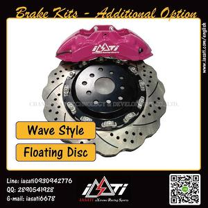 Brake Kits - additional purchasing of Disc Style | IASATI