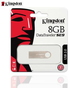 Kingston USB Flash Dirve 8G, 8GB DTSE9/8G