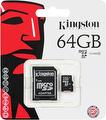 Kingston MicroSDXC U1 64GB SDC10/64G