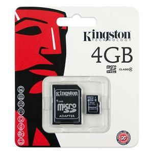 Kingston SDC4/4G MicroSD SDHC TF, 4GB