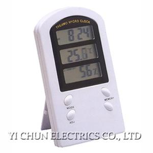 CTH-9836 Thermo-hygrometer with Alarm Clock