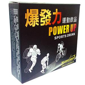 Power Up Sports Drink (powder) 12 packs/box (6g/pack)
