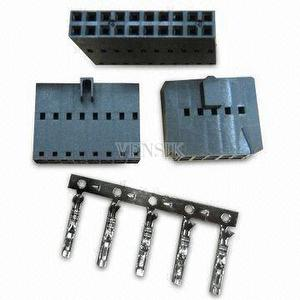 Center Dual Row Mini Latch Housing in 4 to 80 Cicruits