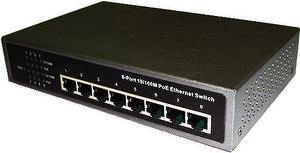 PS800E 10/100Mbps 8 Port Desktop PoE IEEE 802.3at Switch