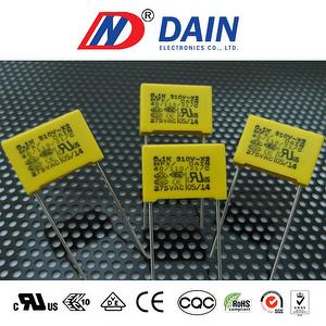 Safety Interference suppression capacitor 0.1uf 104k 275vac