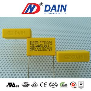class x2 (MPX) capacitor 0.33uF 275v Pitch 22.5mm