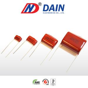 Metallized Polyester film capacitor MEF 104k 250vdc