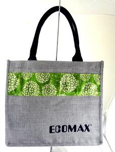 R-PET+Jute Eco-friendly shopping Bag