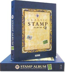 7201-Stamp album with refill 16 pcs