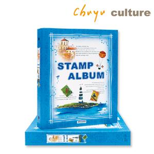 7202-Stamp album with refill 16 pcs