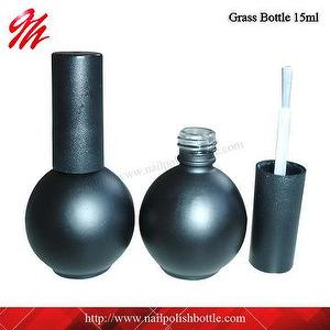 15ml Ball Shaped Glass Gel Nail Polish Bottle