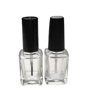 12ml Square Glass Nail Polish Bottle
