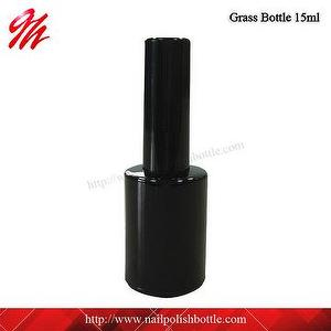 15ml Round Glass Gel Nail Polish Bottle