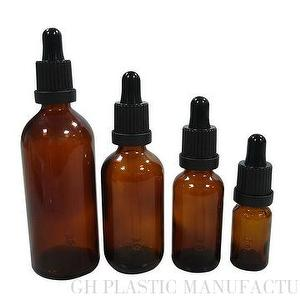 100ml Amber Dropper Glass Bottle For Oil