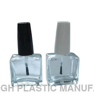 15ml Square Glass Nail Polish Bottles