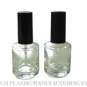 15ml Round Glass Nail Polish Bottle