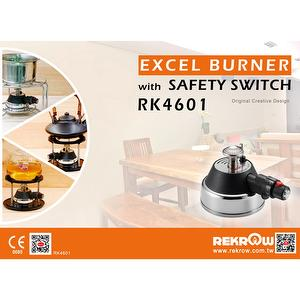 Excel Burner with Safety Switch