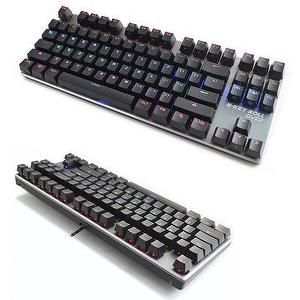 Compact LED Backlight Mechanical Gaming Keyboard,Aluminium